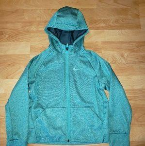 Nike Girl's SM zip front Hoodie